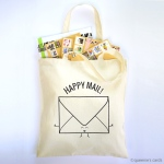 queeniescards_photo_tote bag_happy mail_product1